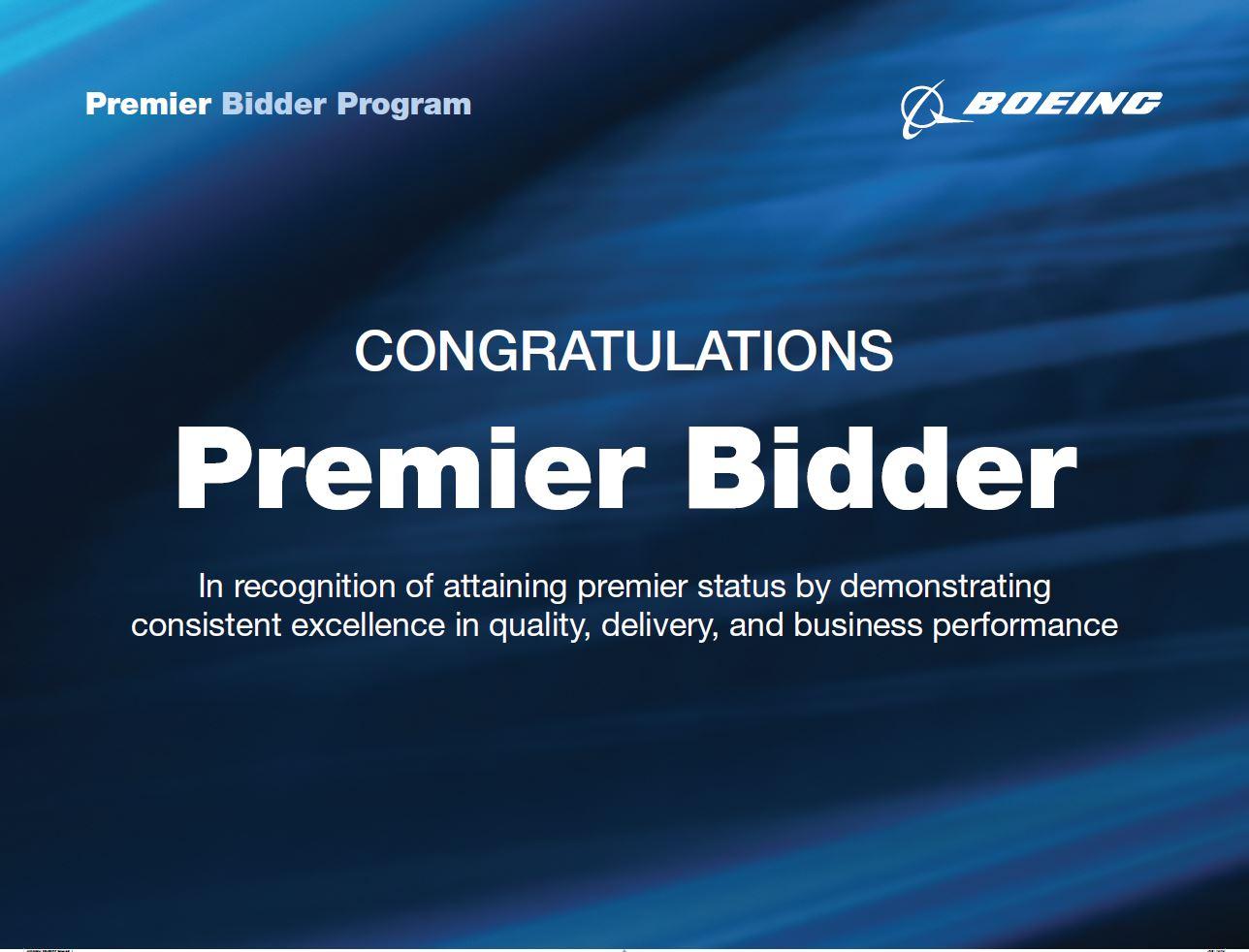 Premier Bidder Program Banner
