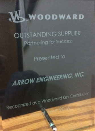 Woodward-Outstanding-Supplier-Award-2016